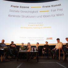 "Corporate Identity ""Freie Szene - Freie Kunst"" (Foto: IG Theater)"